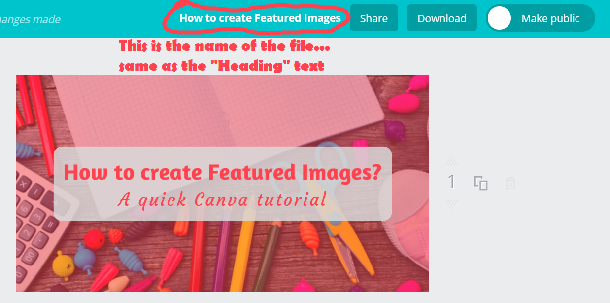 Create Featured Images - Step 11