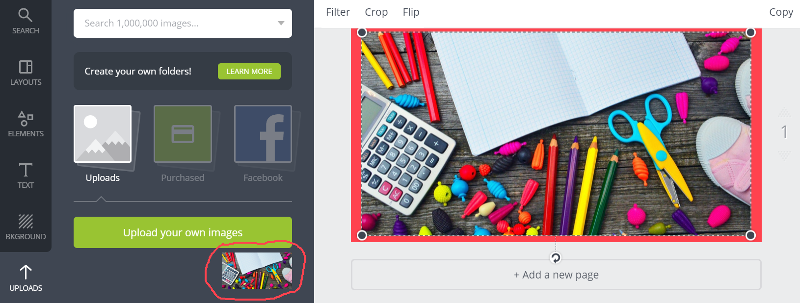 Create Featured Images - Step 5