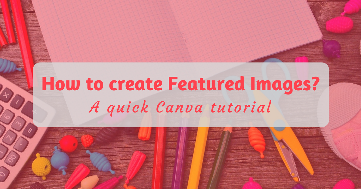 How to create Featured Images