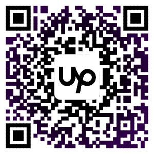 My Upwork QR code