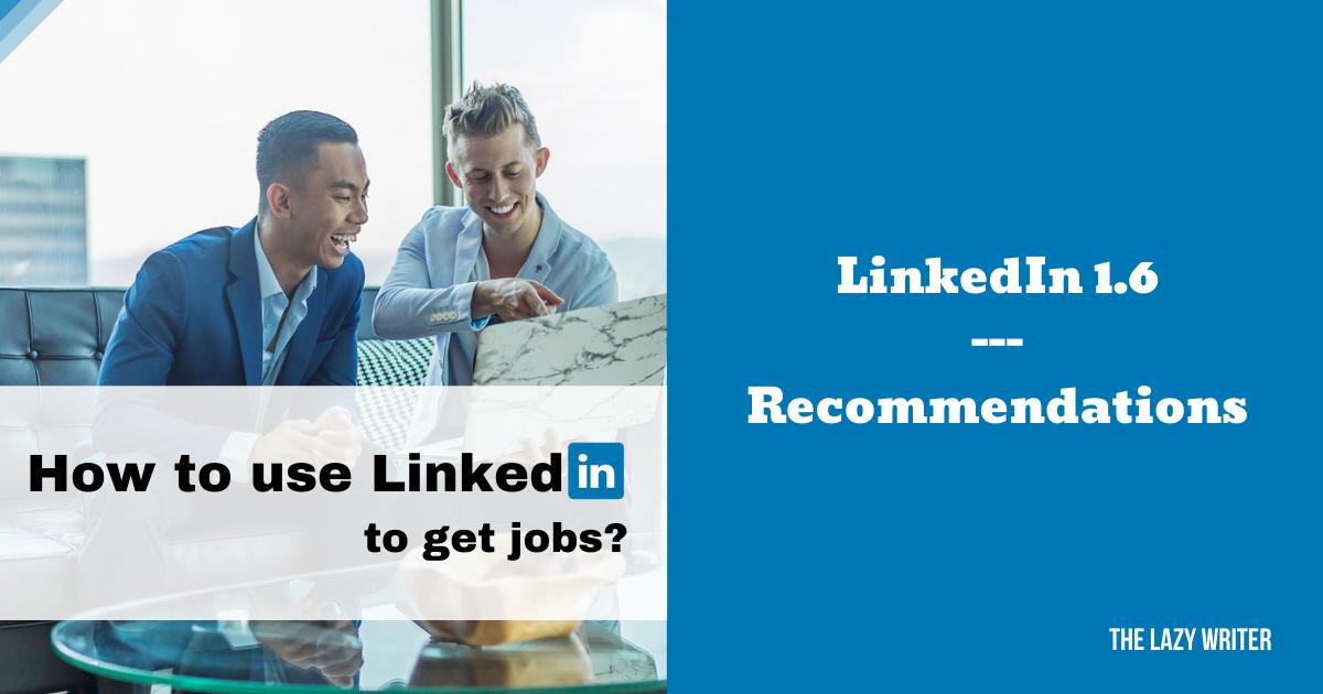 Linkedin Profile Recommendations