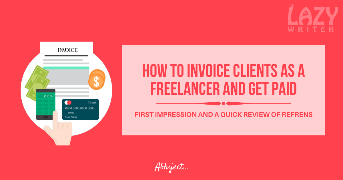 Refrens invoicing software