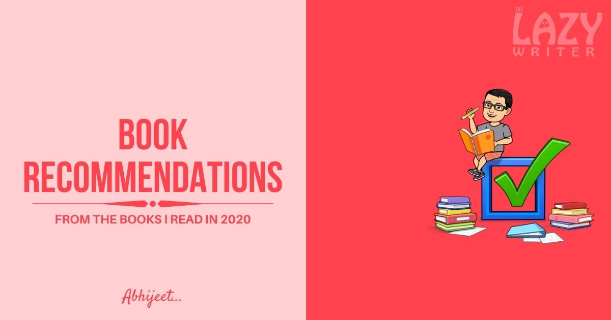My book recommendations from 2020 reads